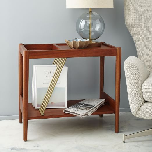 Buy West Elm Mid Century Magazine Side Table From Our Side Tables Range At  John Lewis.