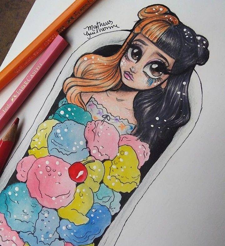 Pin By Ashy Bashyy On Melaniemartinez Melanie Martinez Drawings Cartoon Drawings Melanie Martinez Mad Hatter