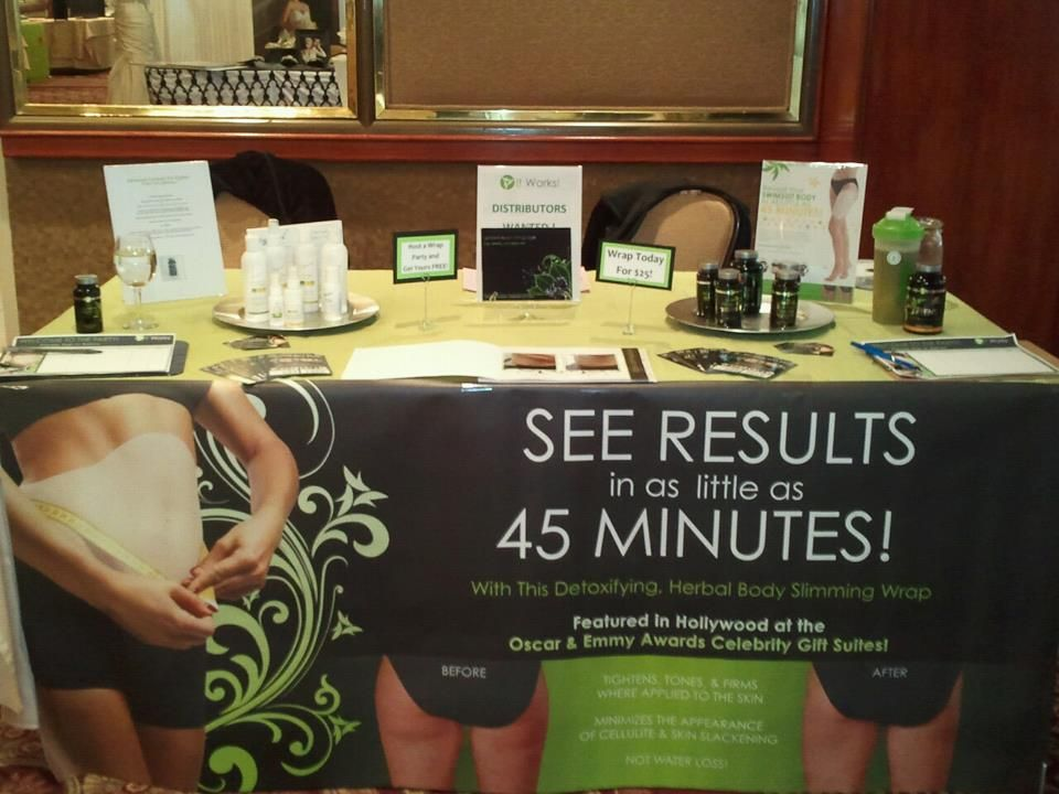 it works expo booth ideas keeping busy with the it works body wraps it