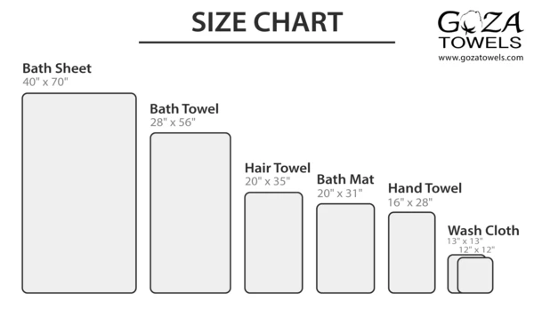 Standard Towel Sizes Google Search In 2020 Washing Clothes Towel Sizes Towel