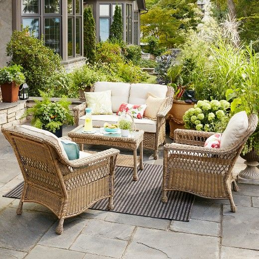 Only 737 At Target Cambridge Patio Furniture Collection Threshold