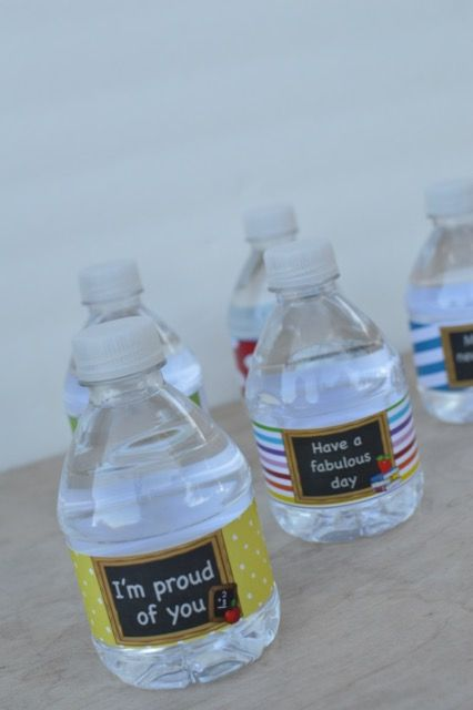 The Cutest Water Bottle Labels For Kids And Back To School Wrap It