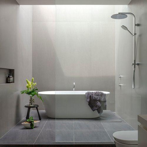 5,000 Modern Doorless Shower Design Ideas U0026 Remodel Pictures | Houzz.  Bathroom ...