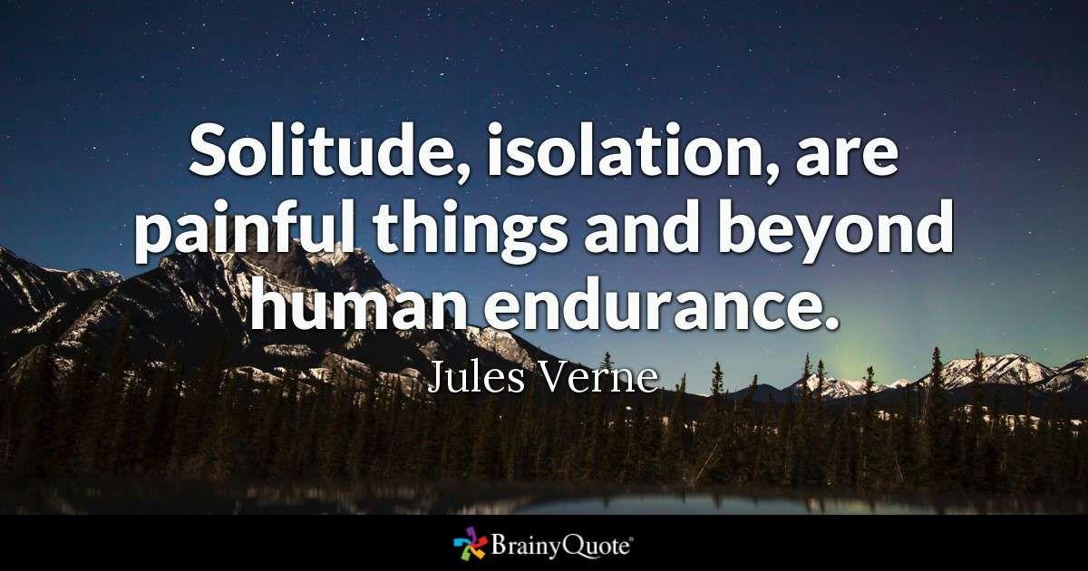 Jules Verne Quotes Solitude Pinterest Solitude Quotes