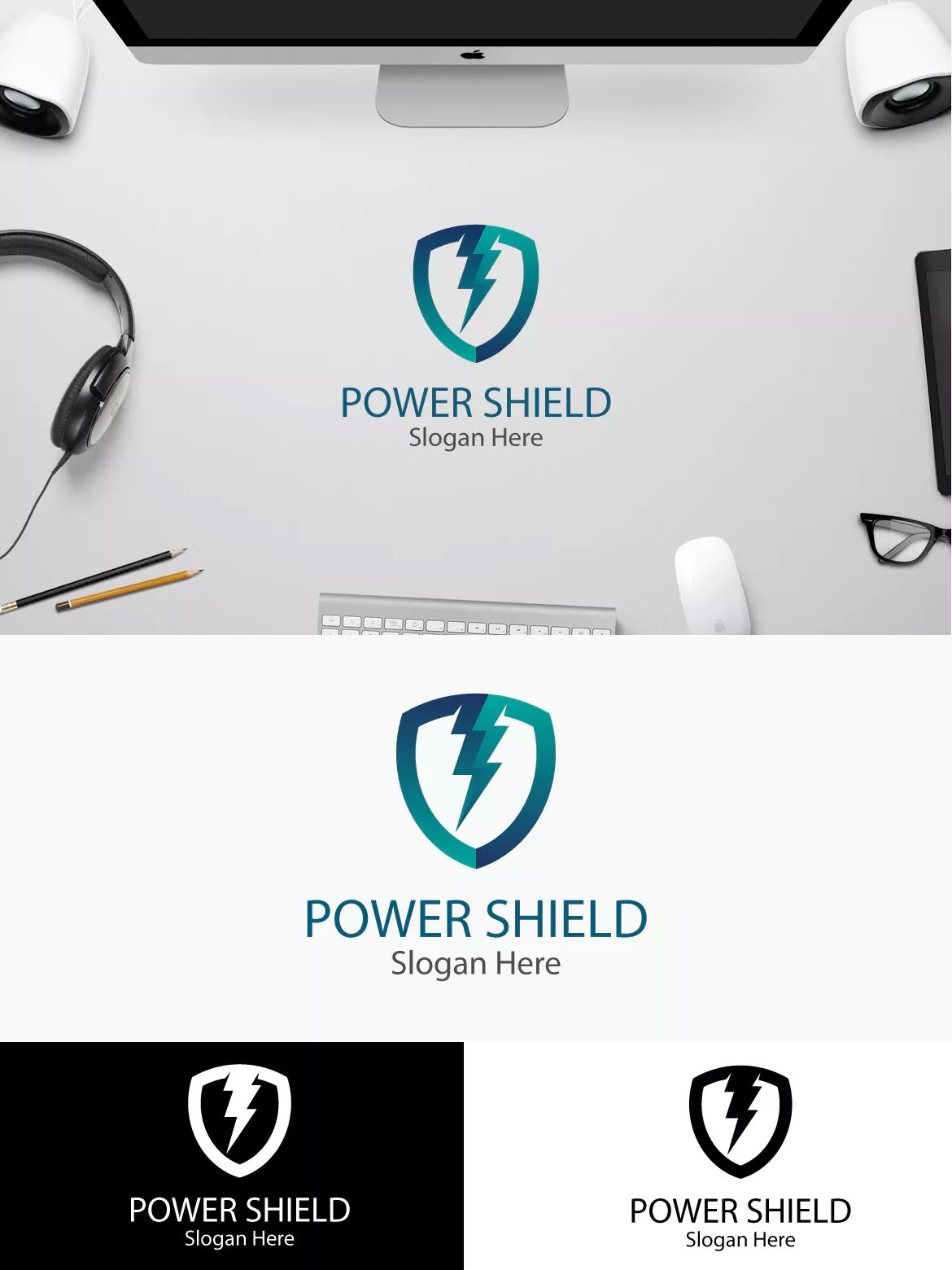 Power shield logo template ai psd logo templates pinterest power shield logo template ai psd maxwellsz