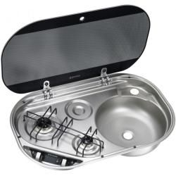 Photo of Cooker / sink combination Hsg 2440R, bowl on the right DometicDometic