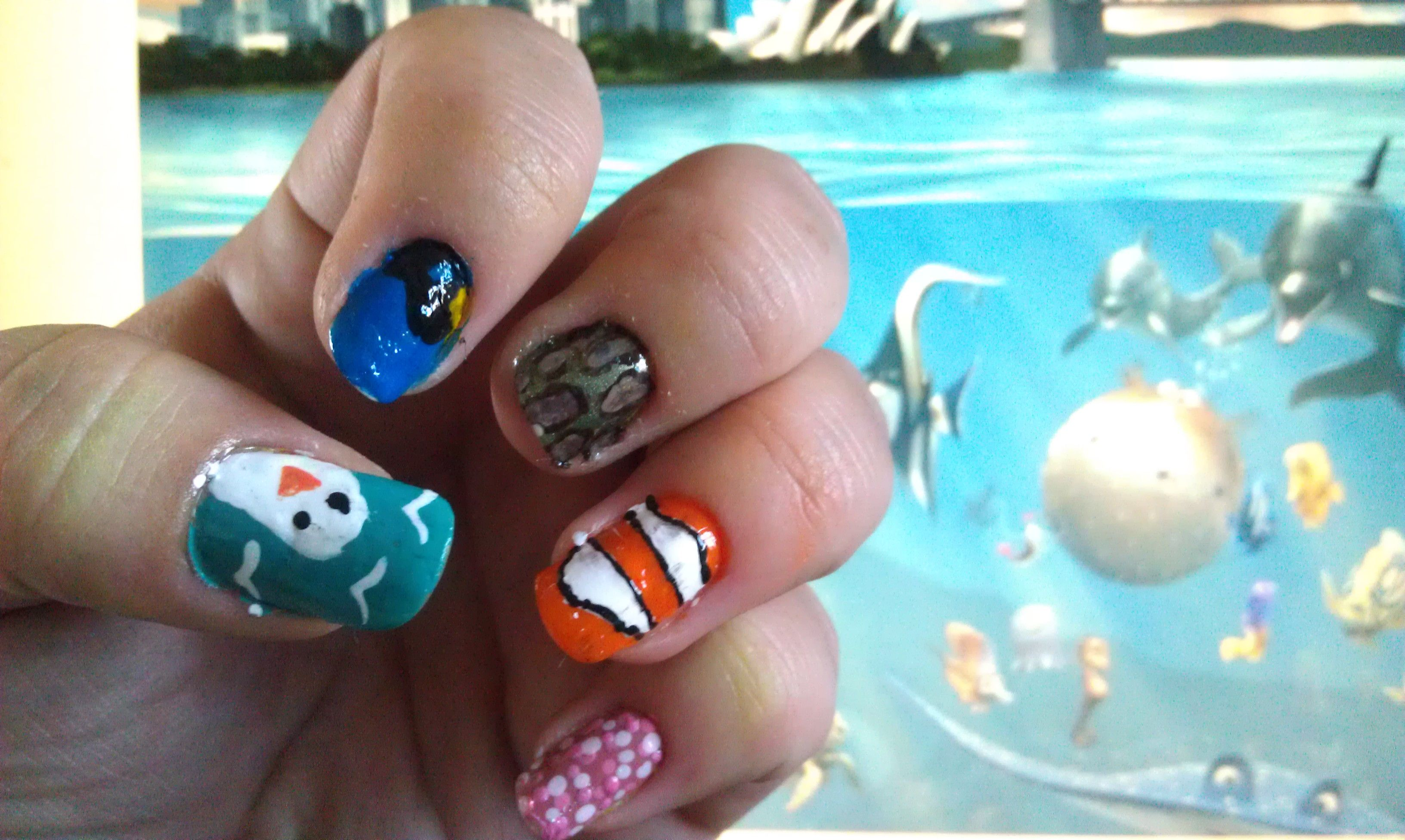 Finding Nemo   Nails I have done   Pinterest