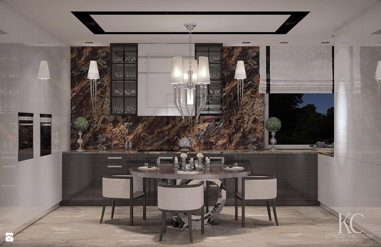 Wystroj Wnetrz Kuchnia Styl Glamour Projekty I Aranzacje Najlepszych Designerow Prawdziwe Inspiracje Dla Kazdego Dla Kogo Liczy Home Decor Interior Home