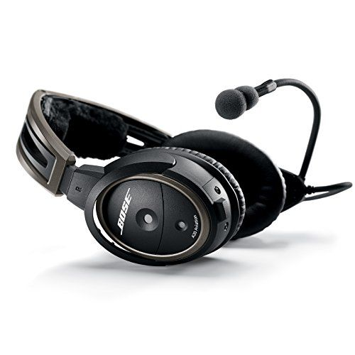 Bose A20 Aviation Headset With Bluetooth Dual Plug Cable Black Check Out The Image By Visiting The Link This Is An Af Aviation Headsets Headset Headphones