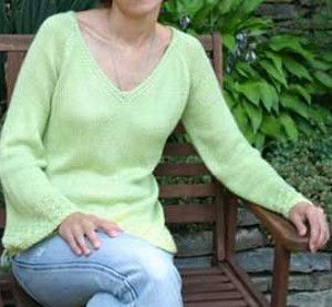 Free Flowing Sweater | AllFreeKnitting.com
