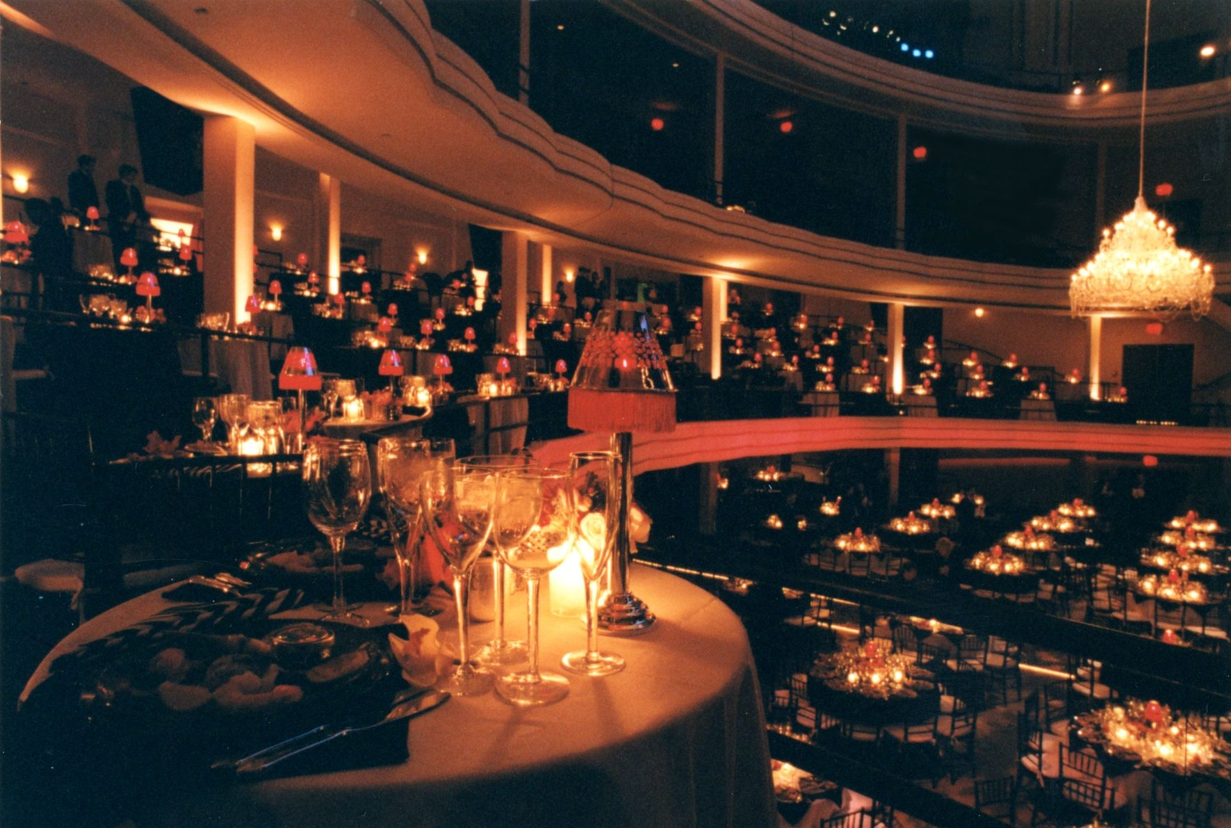 Hammerstein Banquet and Balcony with chandelier