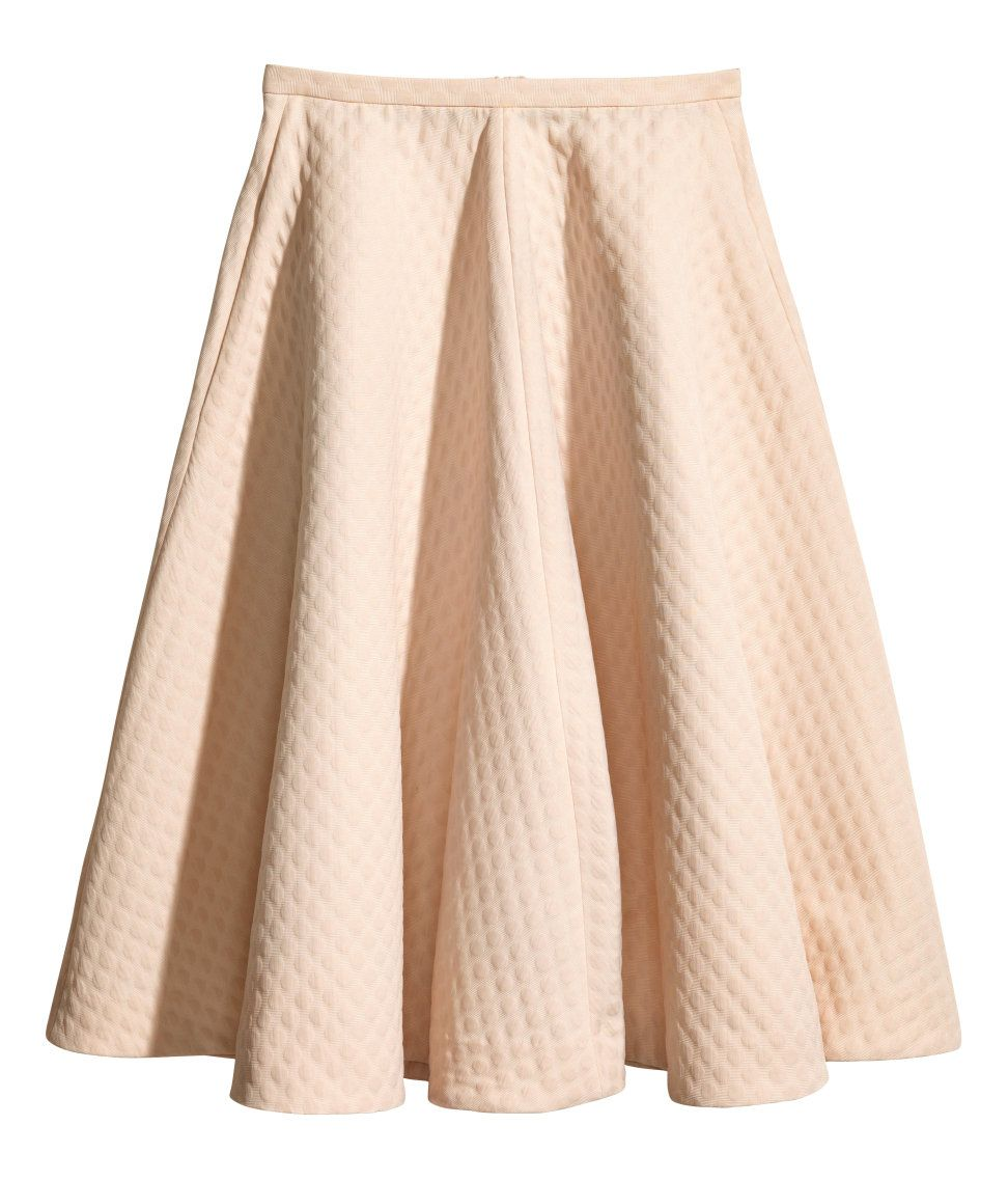 hm-quilted-wide-midi-skirt-pastel-pink-lmuw.jpg (972×1137 ...