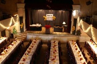 Banquet Table Set Up   The following pictures give you an idea of ...