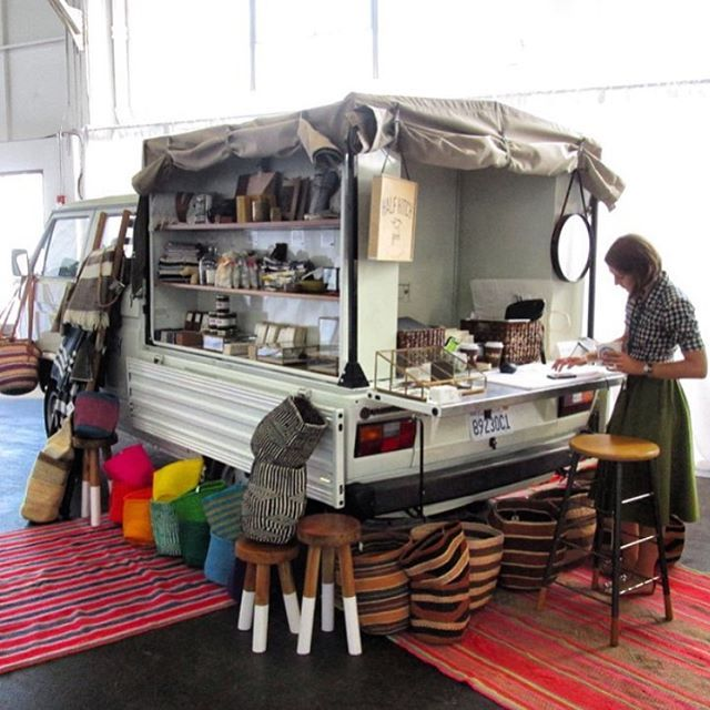 Doing a whole lotta this today in Hayes Valley @proxysf from 12-5! If you're in the Bay Area come out and visit @really_rosa and I - we'll be slanging gifts for the holidays  #doka #halfhitchgoods #VW #vwvanagon #vanagon #vanlife #vanagonlife