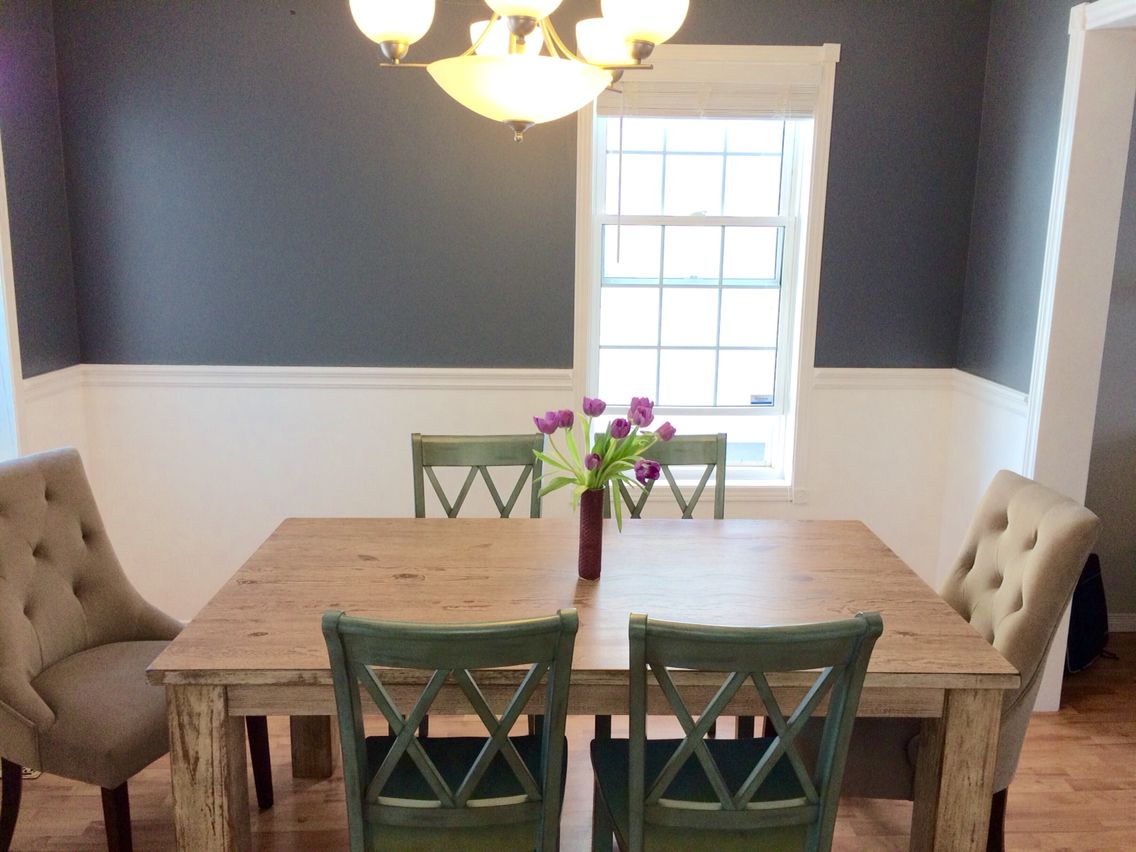 Dining Room Makeover Colour Is Antique