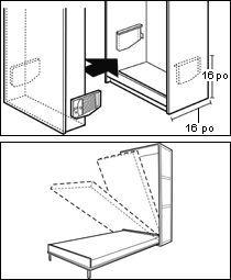 Mecanisme Pour Lit Escamotable Fold Down Beds Murphy Bed Fold Out Beds