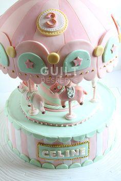 ♥ Carousel Cake