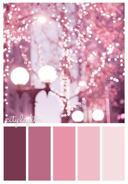 City Lights Color Scheme Pink