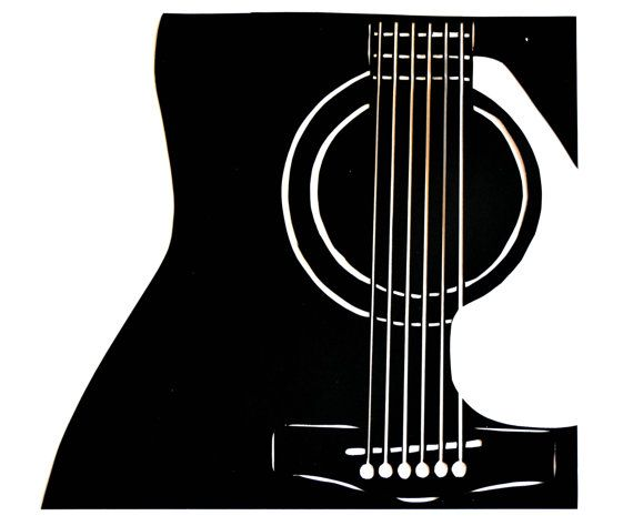 Pin On Guitar Silhouettes