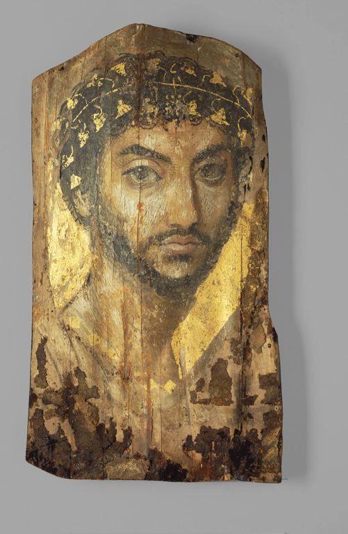 Roman, Fayum region, Egypt  Portrait of a Man, 2nd century A.D.