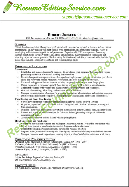 Targeted Resume Format HttpMarketingtochinaComBaiduSeo