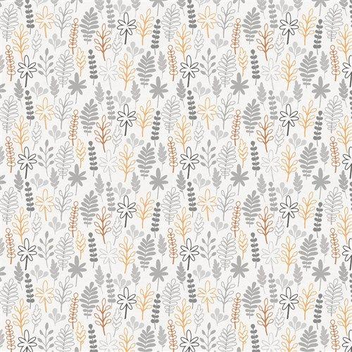 Light Orange and Gray Ferns