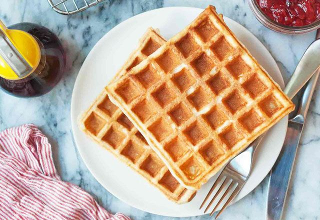 Gaufres l g res sans mati re grasse ww recettes weight watchers ou light gaufre legere - Cuisiner sans matiere grasse ...
