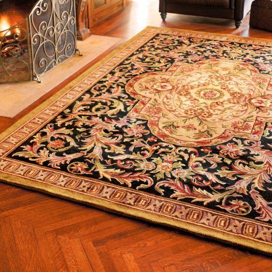 Persian Midnight Wool Area Rugs