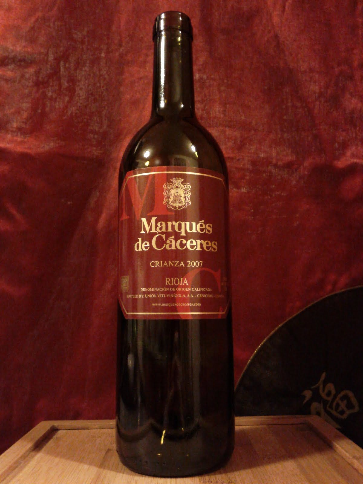 2007 Marques De Caceres Rioja Wine Label Packaging Wine Lovers Wine Culture