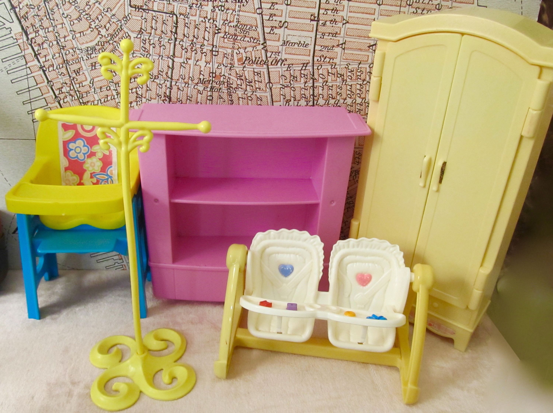 Vintage Barbie Doll Furniture Lot Vintage Barbie Dolls Barbie Doll House Vintage Barbie