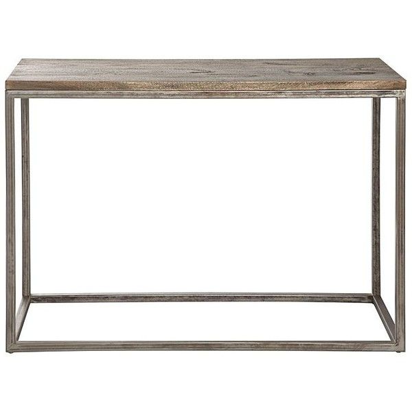 Bradley Console Table ($7.96) ❤ Liked On Polyvore Featuring Home, Furniture,  Tables