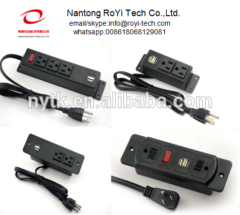 Furniture Power Outlet With USB Charge Charging 5V 21A