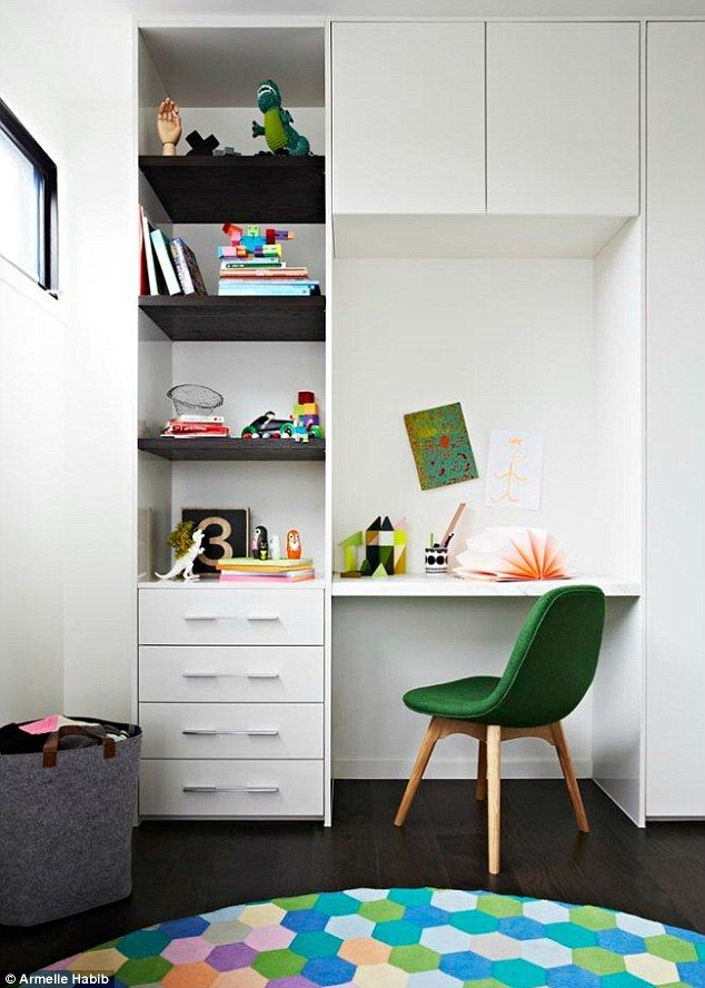 Bedroom Desk Black