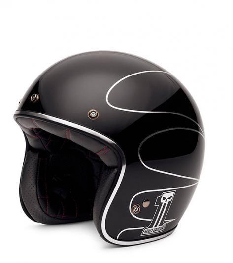 Harley-Davidson Elite Retro 3/4 Helm | Helmets, Harley davidson and