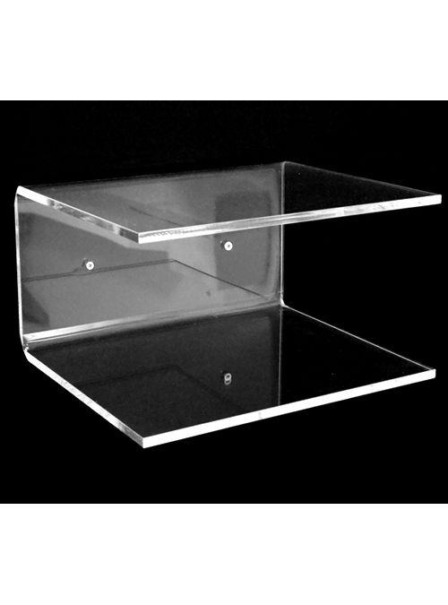 Mensola Forma C plexiglass comodino 30x25x15   Arredo nel ...