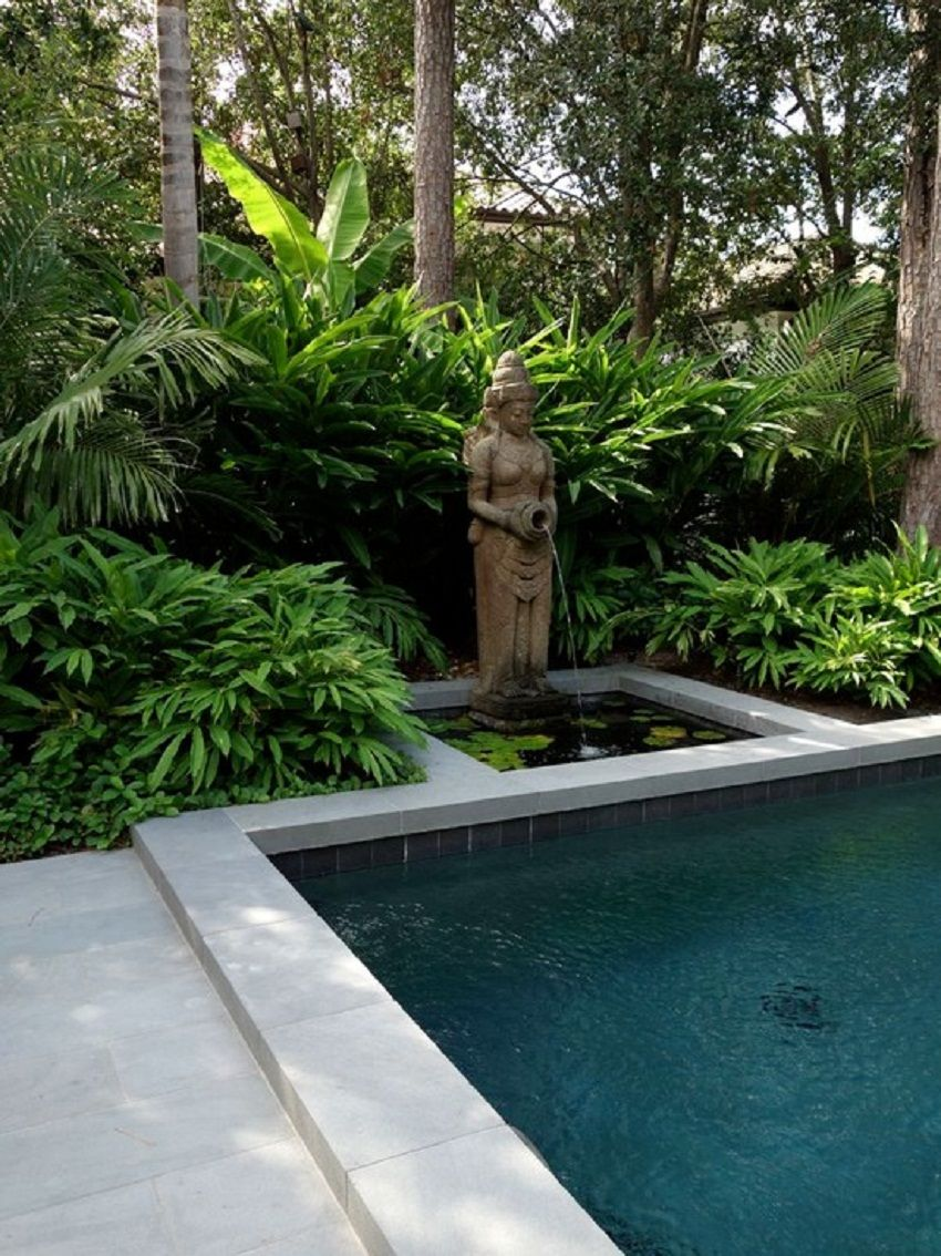 Decorative Unique Balinese Garden Statue with Waterfall Ideas ...