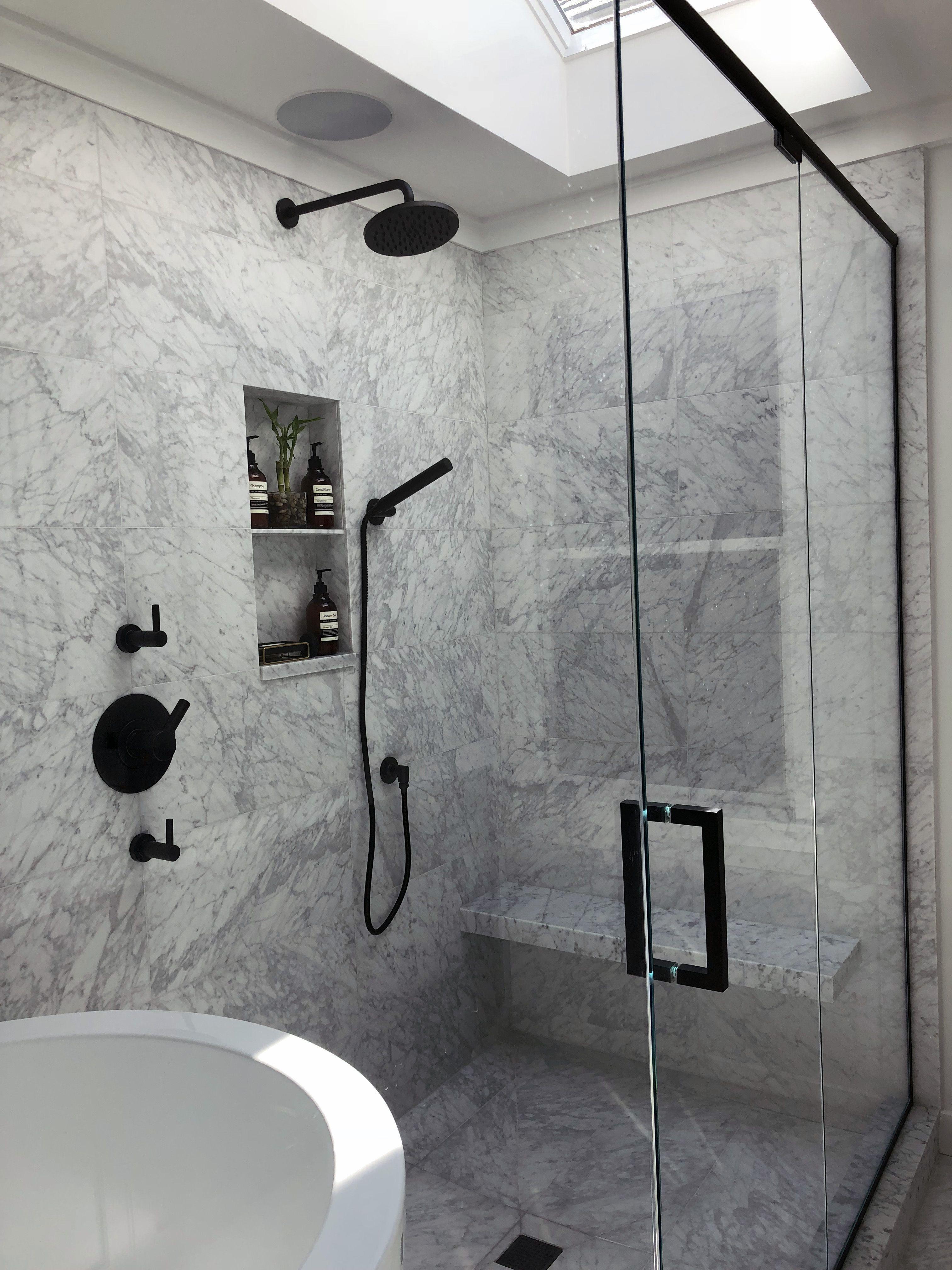 Wet Room With Japanese Soaking Tub Jasonwu Brizo Marble Siglo Wetroom Bathroom Bathroom Japanese Bathroom Design Japanese Bathroom Wet Room Bathroom Wet room shower design