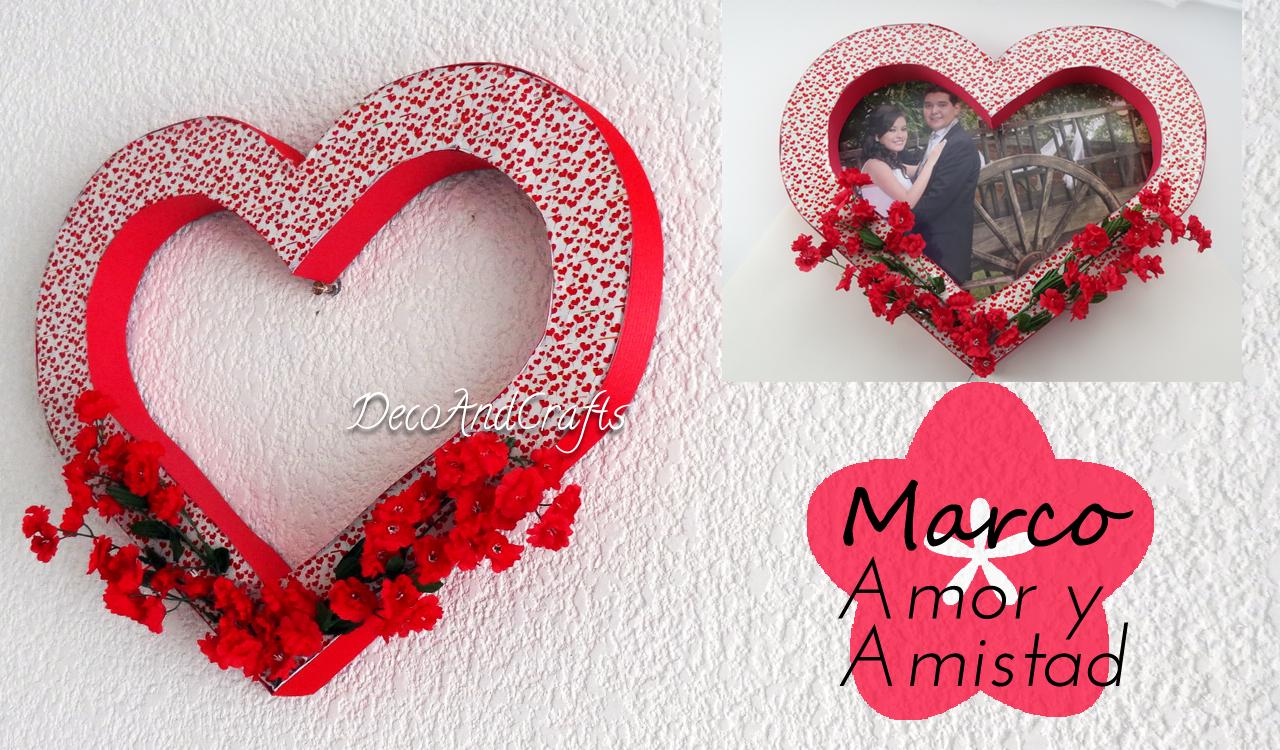 Regalos para San Valentin, Dia de las Madres o Aniversario, Marco en ...