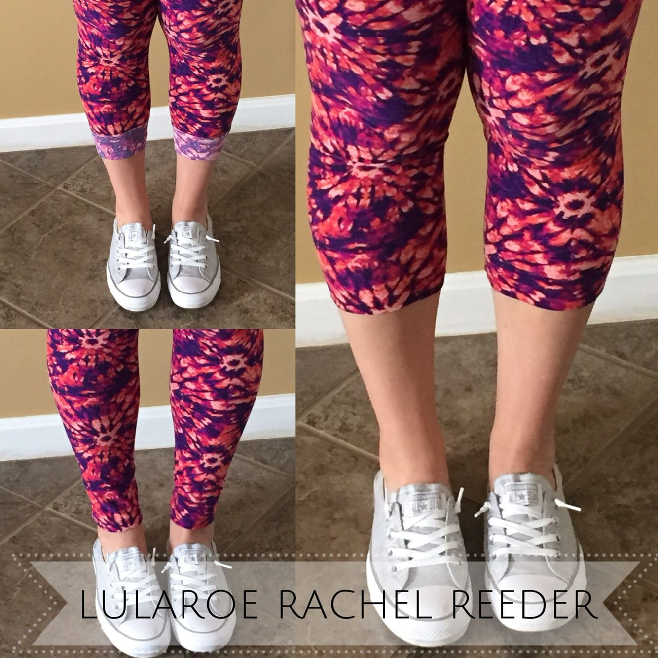 694a0c9fd580d9 A few different ways to wear your  LuLaRoe  Leggings! Isn t the  tiedye  print on…