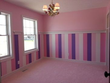 Custom Wall Paint Shelf Little Girl S Room Perfect For A