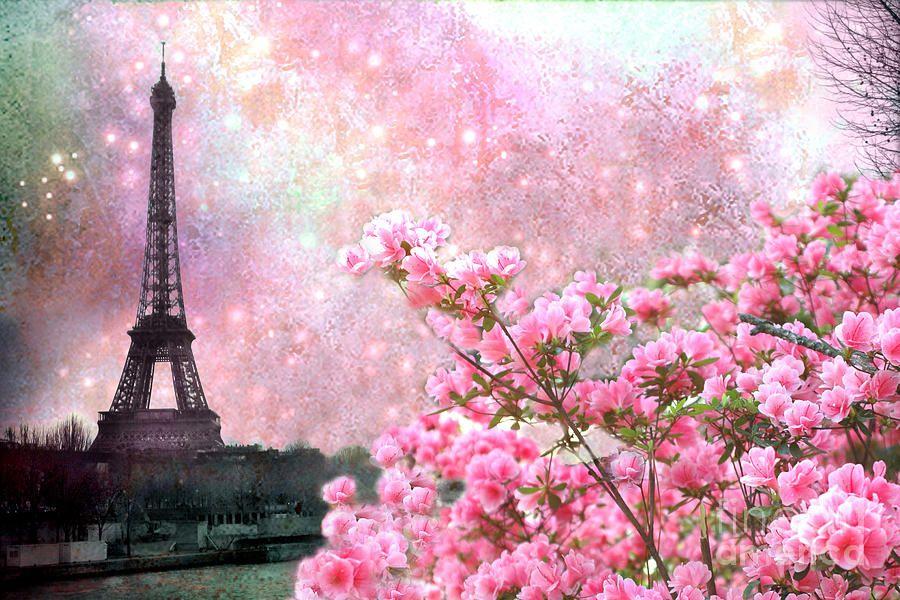 Romantic springtime paris spring pink dreamy eiffel tower romantic kathy fornal artwork collections spring photographyparis photographypink mightylinksfo Gallery