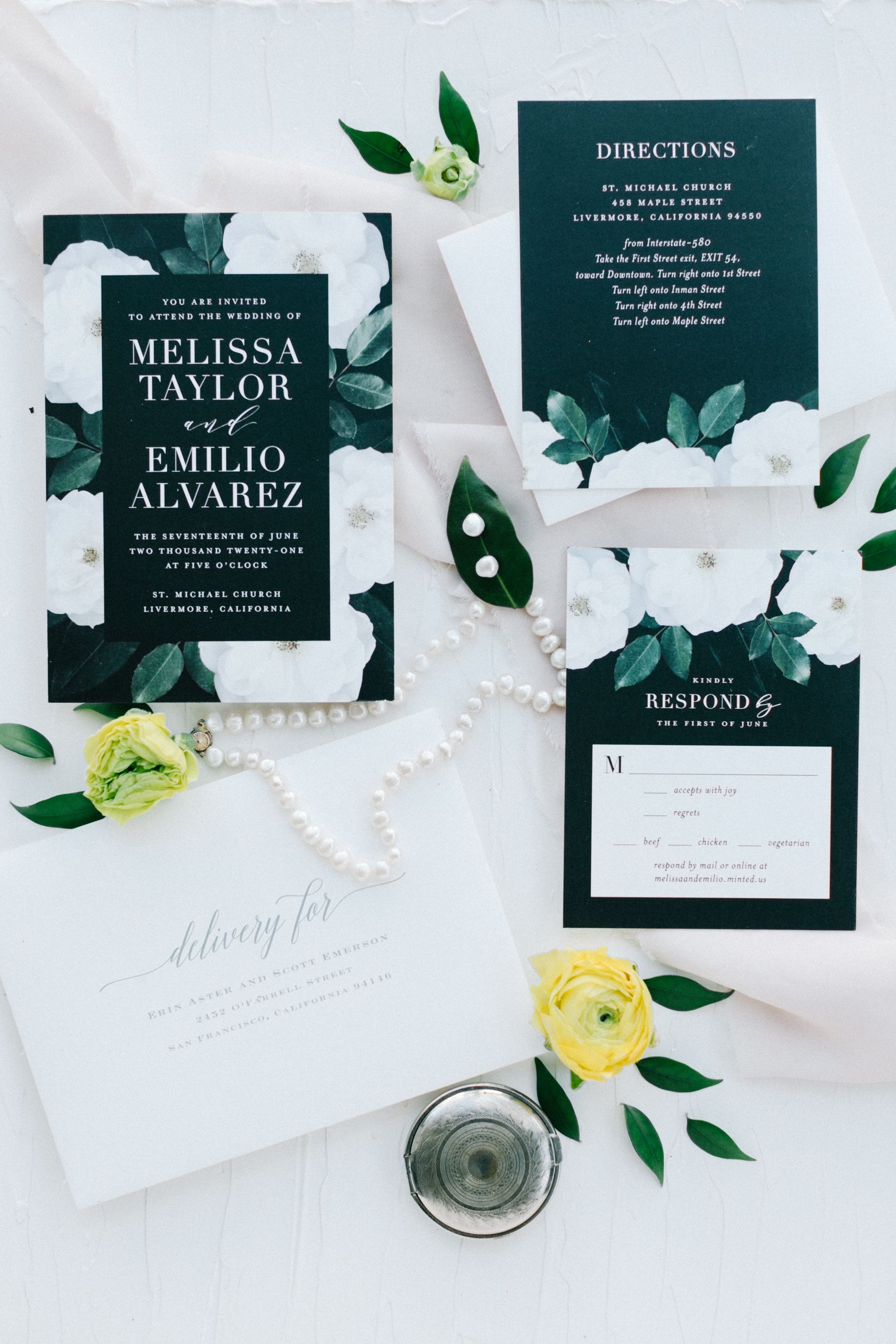 Modern Black And White Minted Wedding Invitation Suite Styling Minted Wedding Invitations Wedding Invitations Invitation Suite Styling