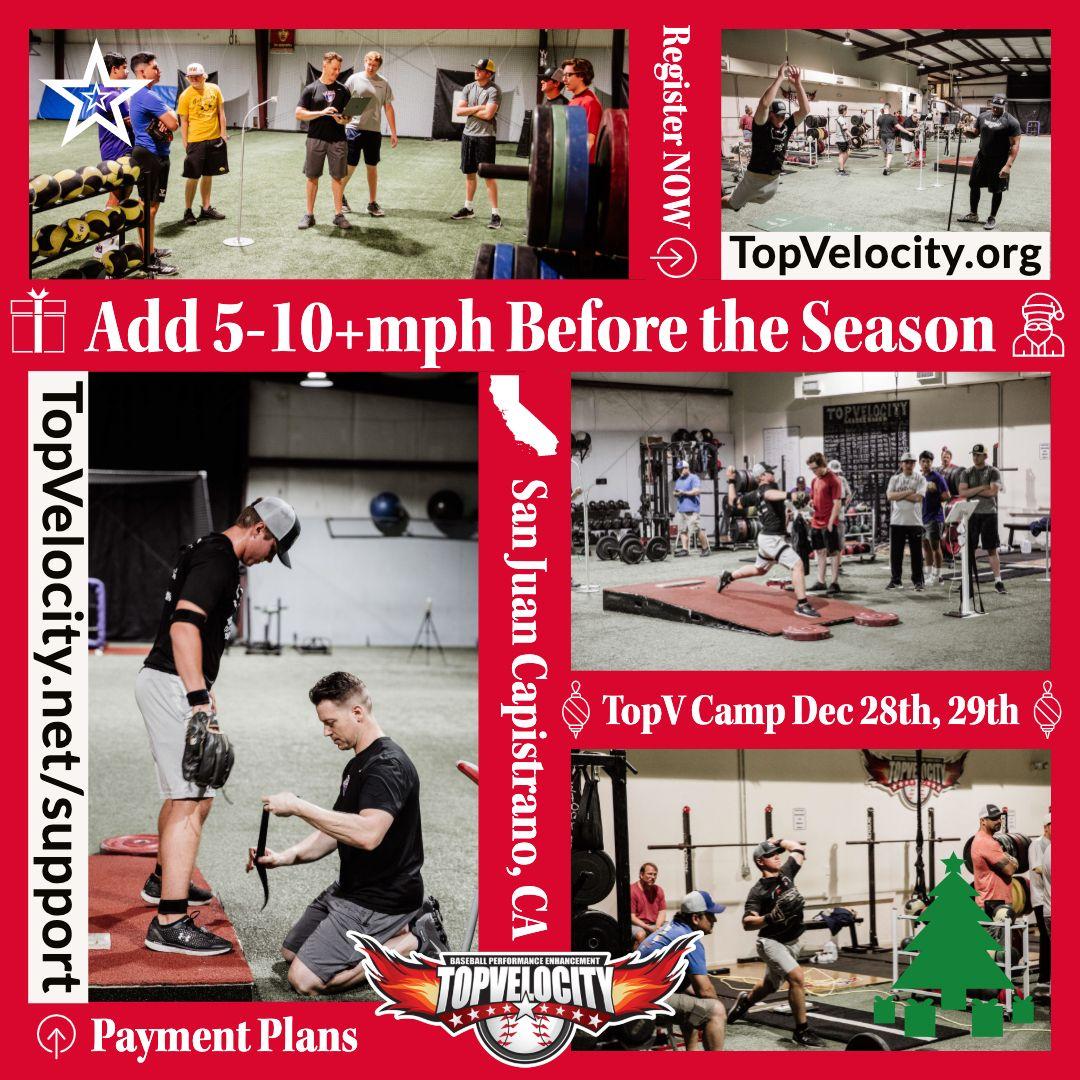 Topv Camp Dec 28 29 Socal Baseball Camp San Camping