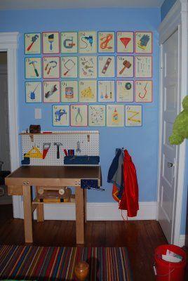 Beautiful Tool Inspired Boy S Bedroom Room Kids