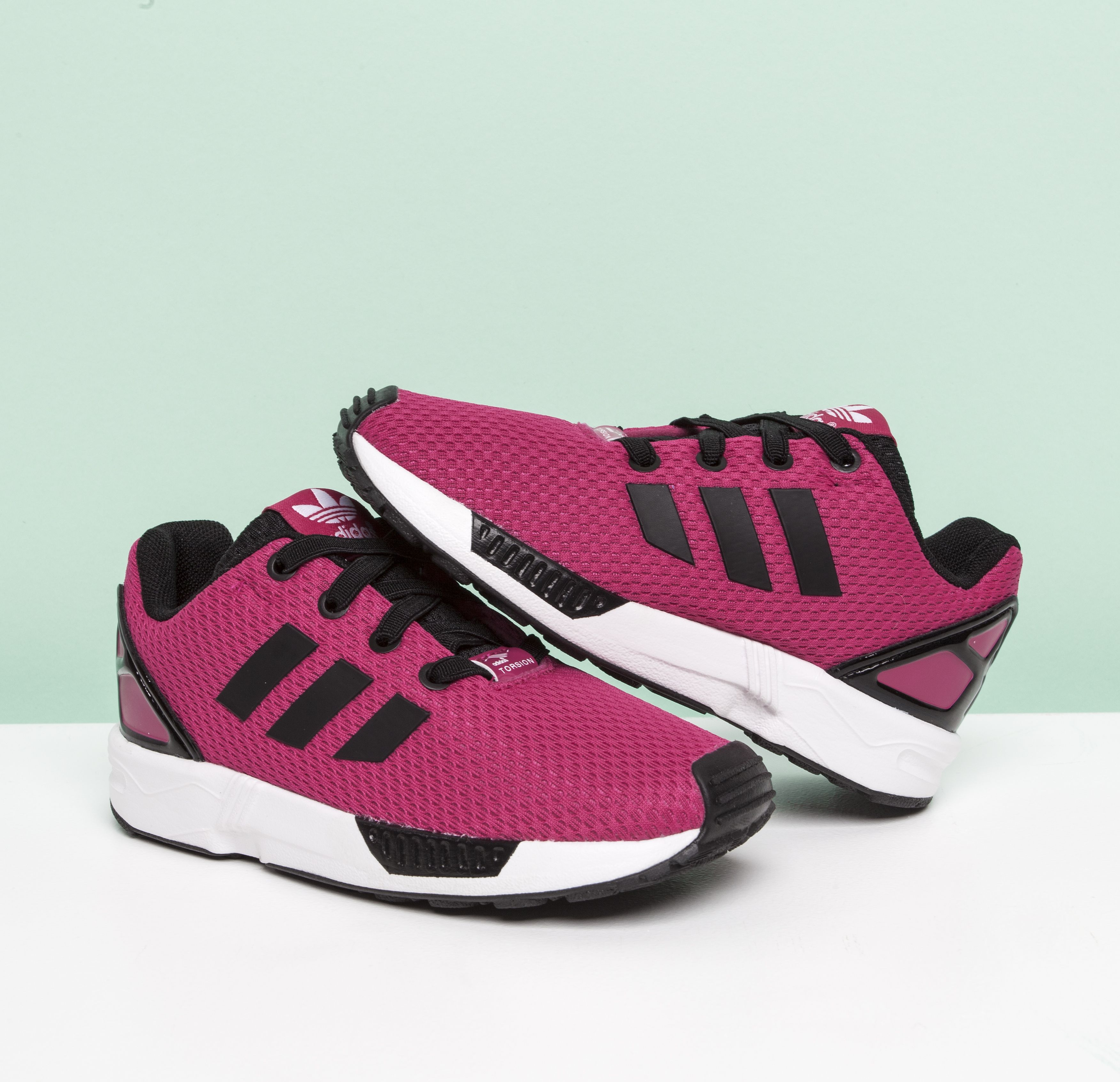 Kid shoes, Pink adidas, Adidas zx flux