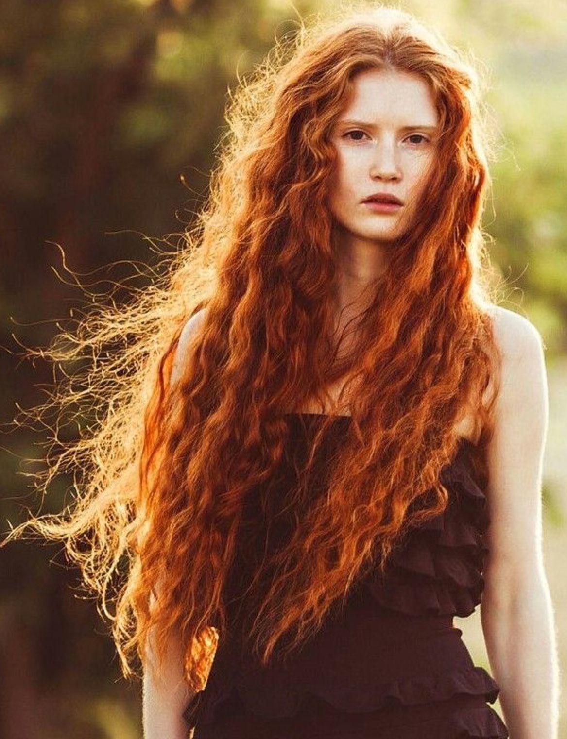 Irish Beauty Long Hair Styles Hair Styles Natural Red Hair