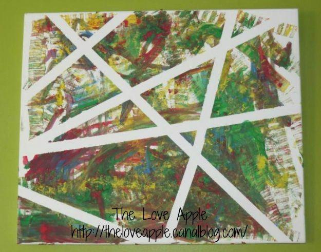 Célèbre Peindre sur toile, un jeu d'enfant   activités pour les enfants  PU68