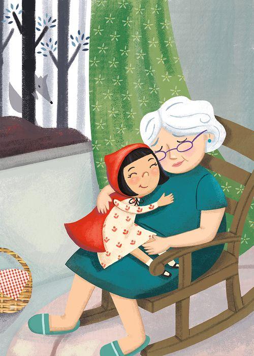 Astounding Little Red Riding Hood Grandma And Little Red Grandma And Creativecarmelina Interior Chair Design Creativecarmelinacom
