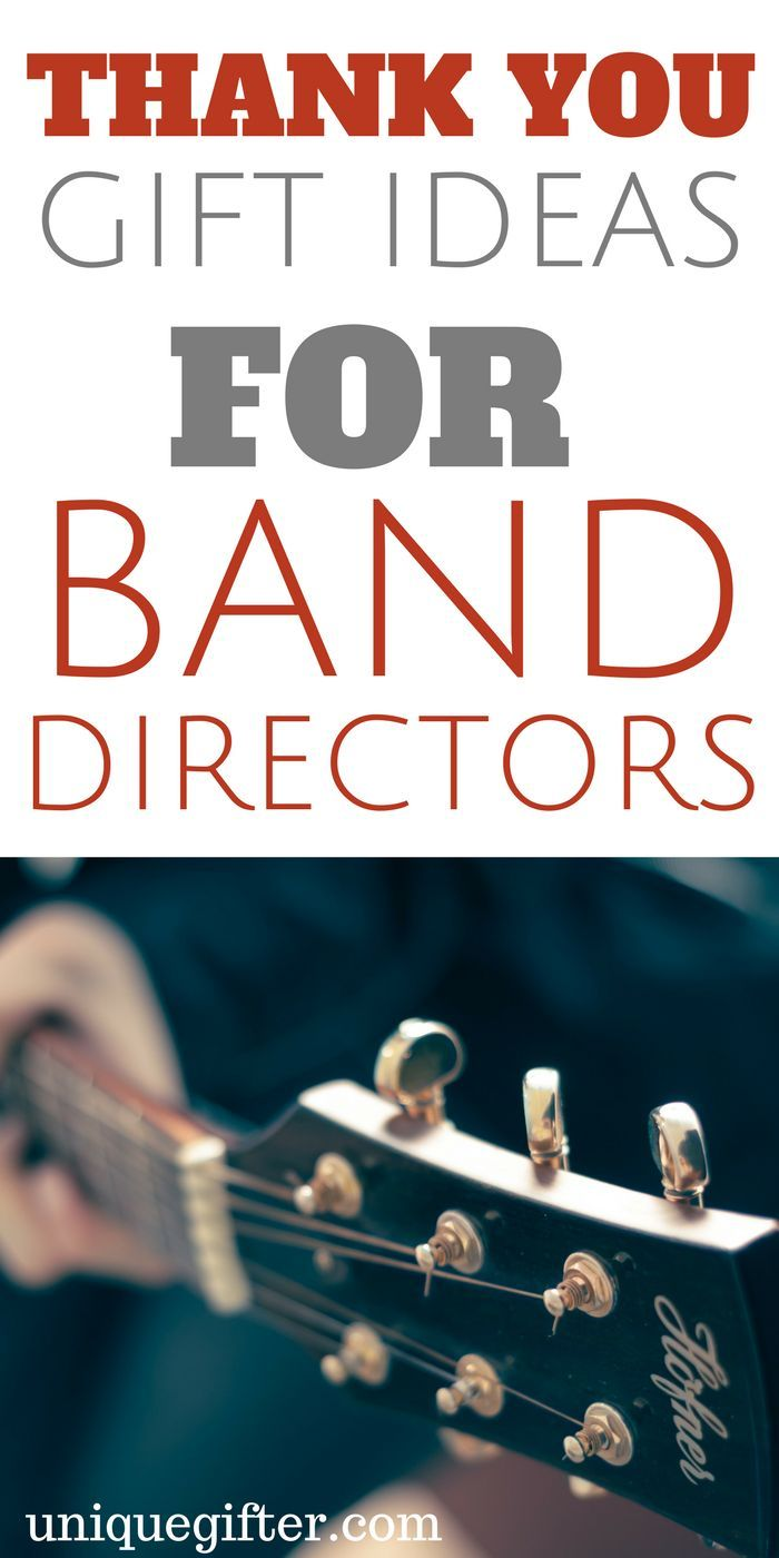 20 Thank You Gift Ideas For Your Band Director Band