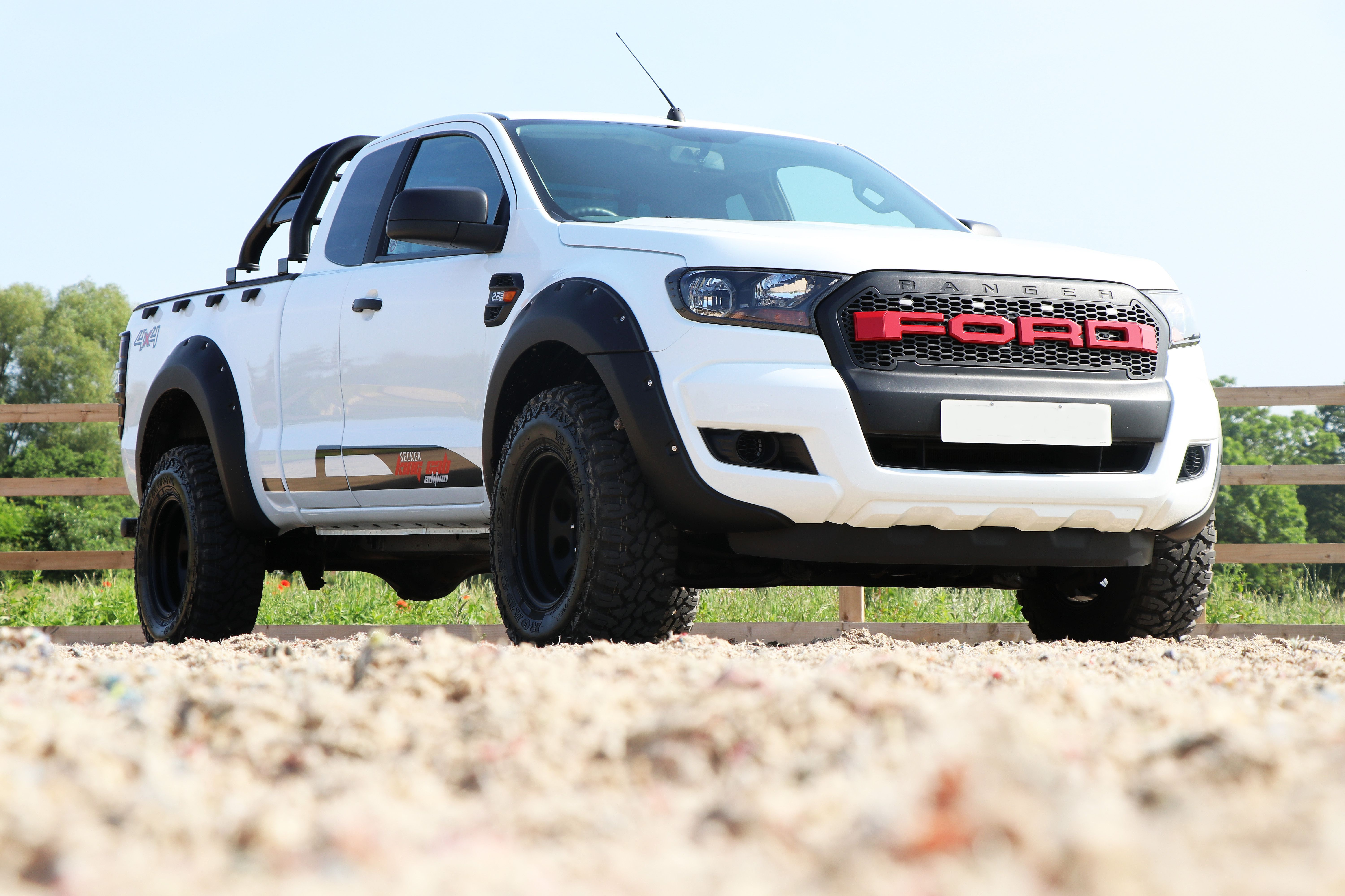Seeker King Cab Raptor Special Edition With Images Ford Ranger Ford Transit Raptor